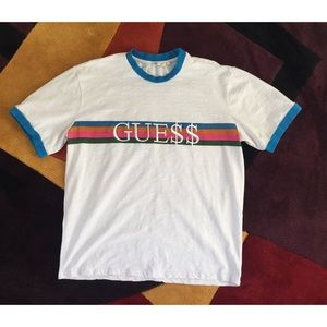 Guess Jeans X A$AP ROCKY T-Shirt Men's XL
